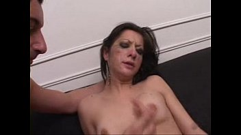 boyfriend facefuck cute milf after watching porn