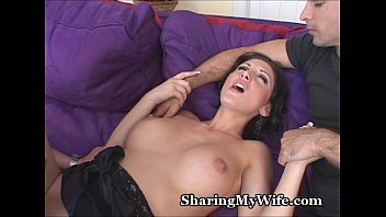 a pretty shemale rides her horny bull's cock