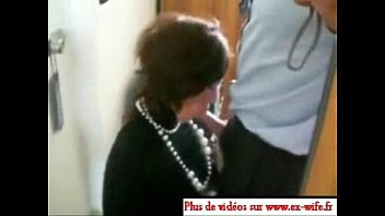 horny french lezdom whipping and dildoing tied up slut