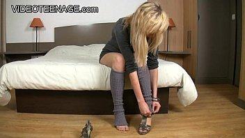 emo teen girl gets her first big cock