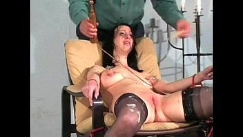 tattooed submissive in bdsm session