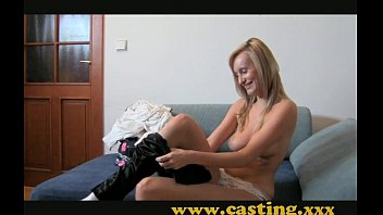 at a special casting, she gets hard fucked