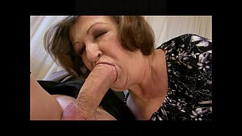 sexy gilf gets fucked in a threesome